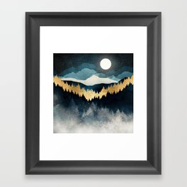 Indigo Night Framed Art Print