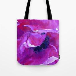 Bug On A Rose - Hot Pink Fuschia Tote Bag
