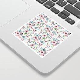 Flowers in Bloom Pattern Sticker