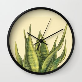 Mother's Tongue Wall Clock
