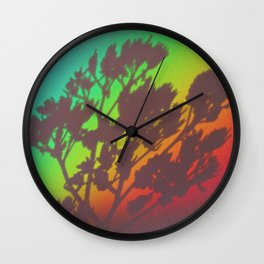 Rainbow's End Wall Clock