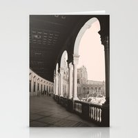 architecture Stationery Cards featuring architecture by Armine Nersisian