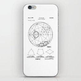 Buckminster Fuller 1961 Geodesic Structures Patent iPhone Skin