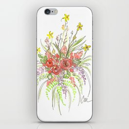 Delicate Floral Spray iPhone Skin