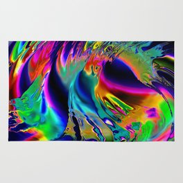 Colour  Liquified Rug