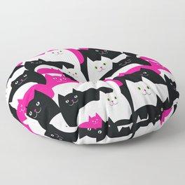 Fat Cats Floor Pillow