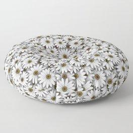 Daisies pattern Floor Pillow