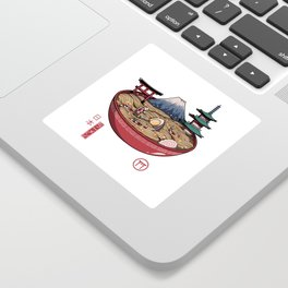 A Japanese Ramen Sticker
