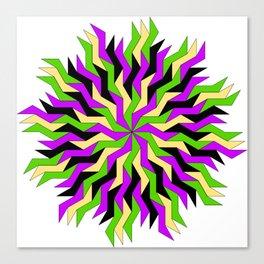 Lightning Wheel Canvas Print