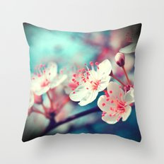 Like a Heartbeat Throw Pillow