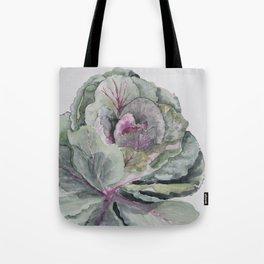 Ornamental waterolour cabbage Tote Bag
