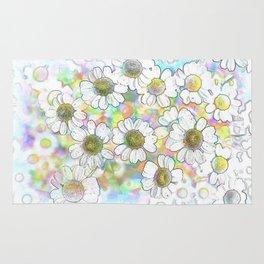 Spectrum of Flowers Rug