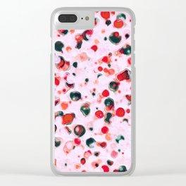 Tutti Fruiti Clear iPhone Case