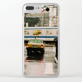 Rainy Day in Tokyo Clear iPhone Case