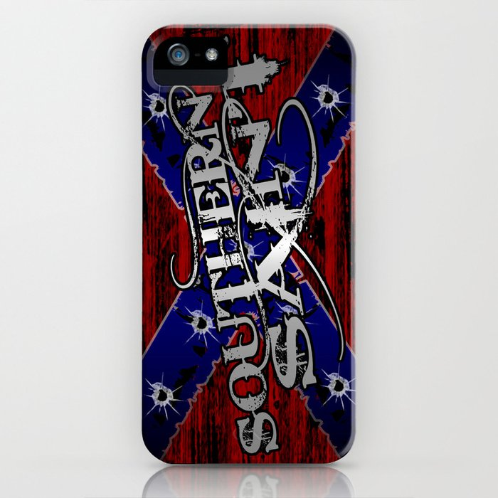 Southern Saint iPhone Case