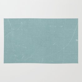 White and Green Old School GreenBoard Rug