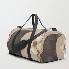 The Crow and Dogwoods Duffle Bag