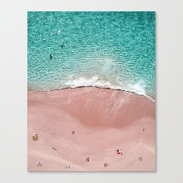 Pink Vacation Canvas Print