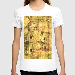 golden flower kaleidoskope T-shirt