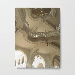 Art Nuveau Balcony Metal Print