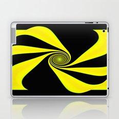Abstract. Yellow+Black. Laptop & iPad Skin
