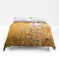 Gustav Klimt - The Woman in Gold Comforters
