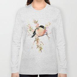 Bullfinch and Spring Long Sleeve T-shirt