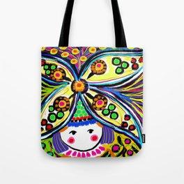 Earth Girl Tote Bag