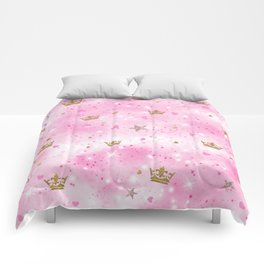 Pink Princess Comforters