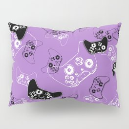 Video Game Lavender Pillow Sham