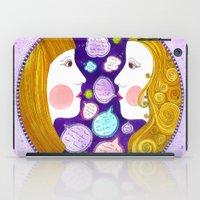 gemini iPad Cases featuring Gemini by Sandra Nascimento