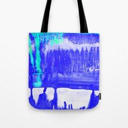 Dip Dye Ultramarine Tote Bag