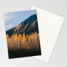Autumn in Kenai Fjords National Park III Stationery Cards