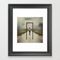 Frame Framed Art Print