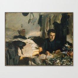 Padre Sebastiano , John Singer Sargent Canvas Print