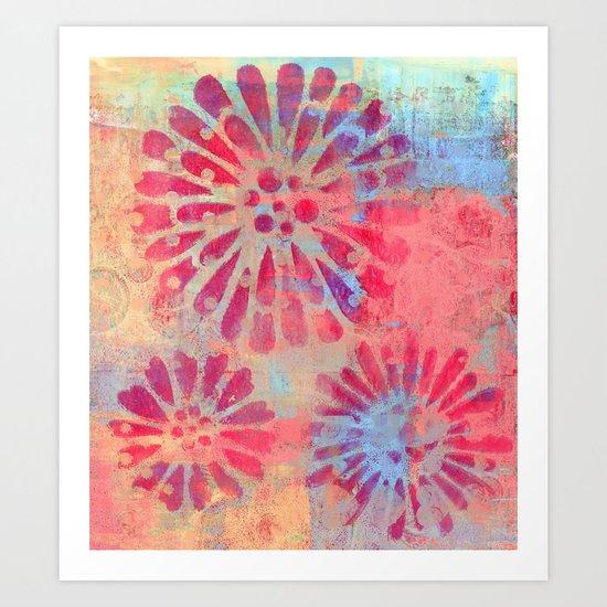 Forever Flowers Art Print