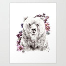 He's a Romantic Art Print