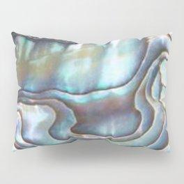 Shimmery Pastel Abalone Shell Pillow Sham