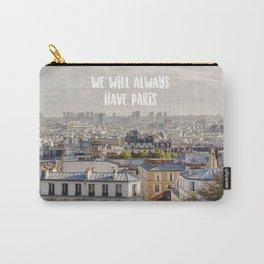 Paris Montmartre Carry-All Pouch