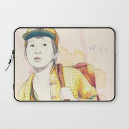 Short Round - Secondary character? Never! Laptop Sleeve