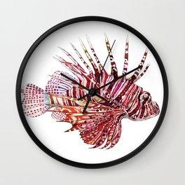 Ocean Dream - Lion Fish Wall Clock