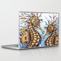 seahorse Laptop & iPad Skins featuring Seahorse by TAOJB