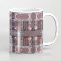 doors Mugs featuring doors by Mackenzie Leigh