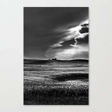 Passing Through B and W Canvas Print