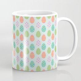 Spring Easter Eggs Blue Coffee Mug