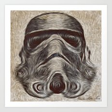 Vincent Stormtrooper Art Print