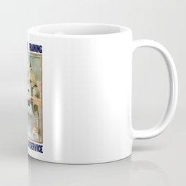 Enlist In The Air Service Coffee Mug