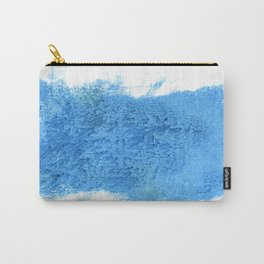 Blue Jeans abstract watercolor Carry-All Pouch