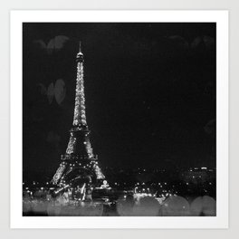 La Nuit (Paris Night) Art Print