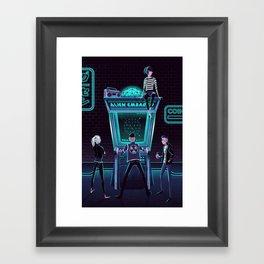 Alien Embargo Framed Art Print